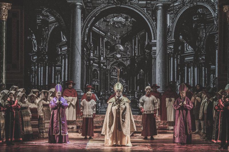 Tosca opera Raftul cu idei Puccini, ONB