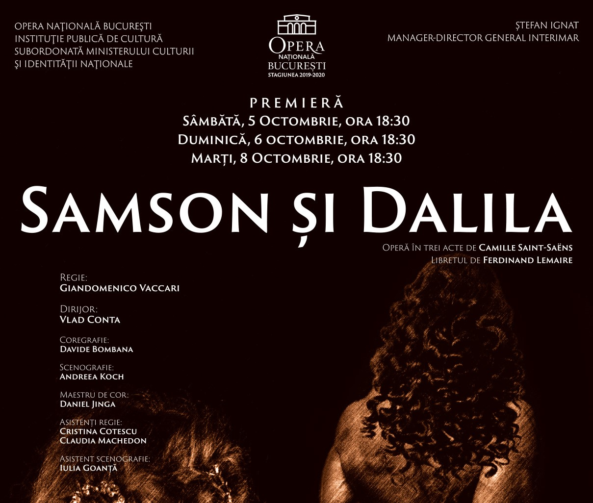 opera nationala bucuresti samson si dalila