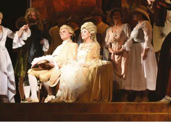 Nunta lui Figaro opera ONB Raftul cu idei
