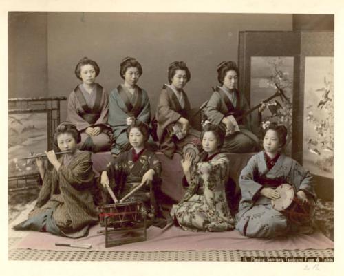 Gheisele japoneze - Raftul cu idei