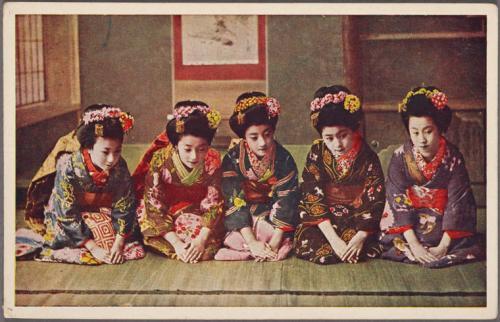 Gheisele - Raftul cu idei - cultura japoneza